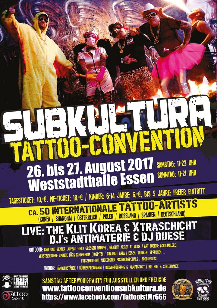 Tattoo Convention Subkultura - Plakat