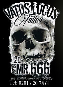 Vatos Locos Tattoo Studio Mr. 666